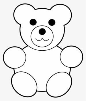 White Teddy Bear Png PNG Images.