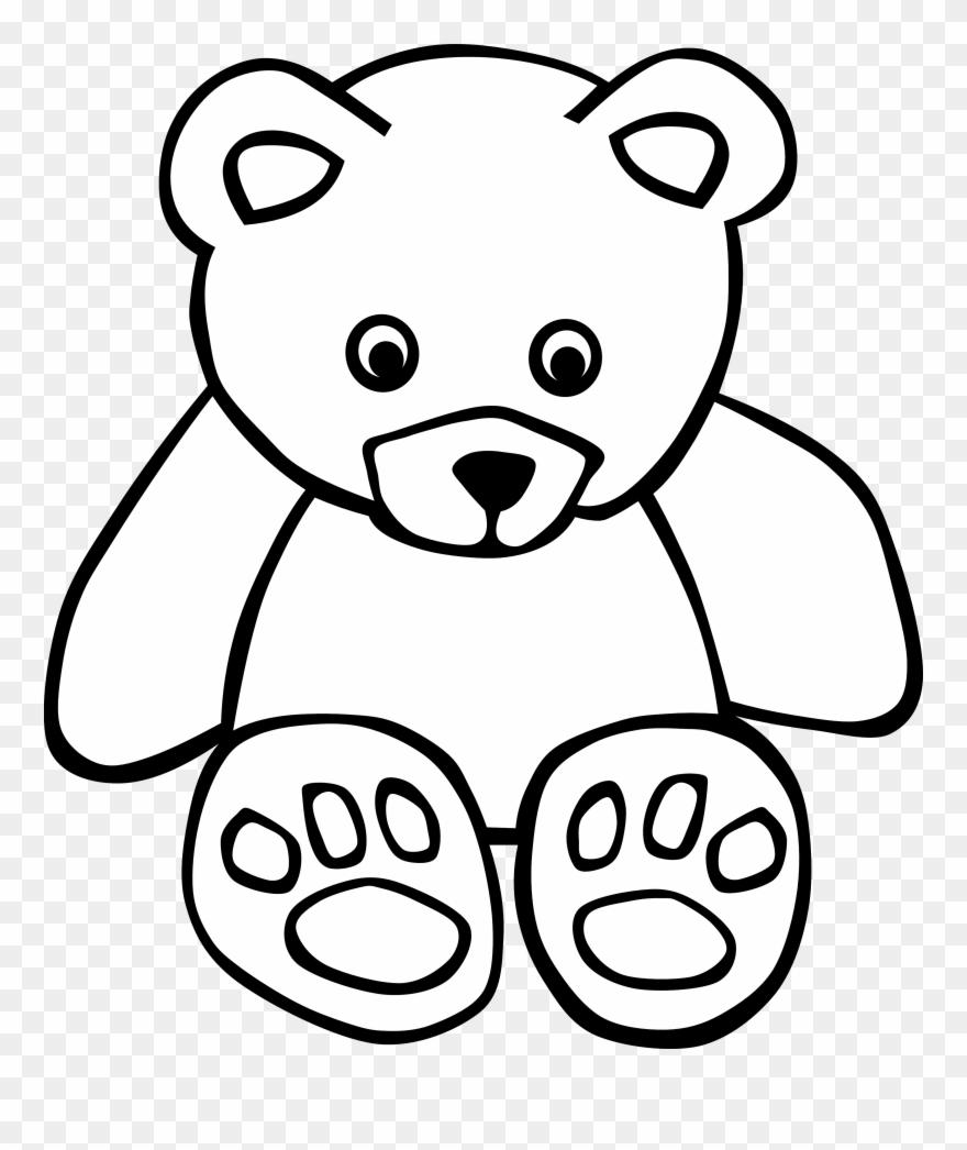 Teddy Bear Clip Art Image.