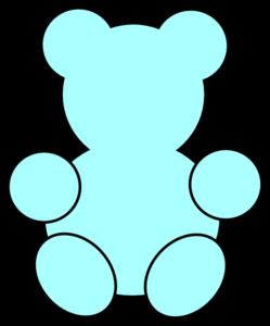 Teddy Bear Clipart Border Cute.
