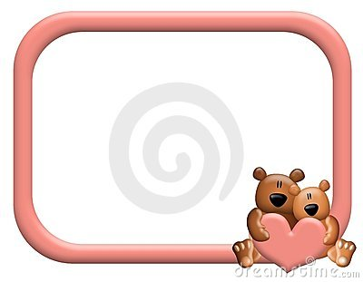 Kissing Bears Stock Photography.