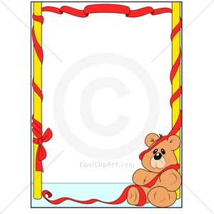 Showing post & media for Cartoon bears borders and frames.