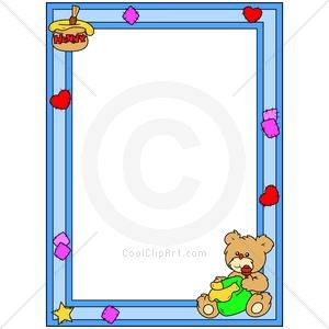 Teddy Bear Clipart Border.