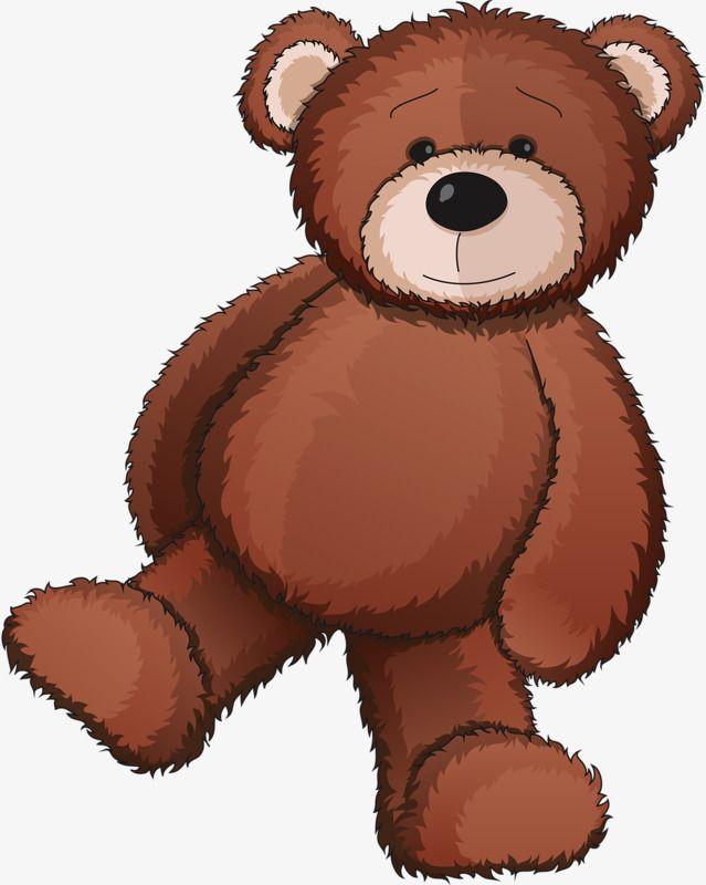Hand Drawn Teddy Bear, Toy, Teddy Bear, Brown PNG.