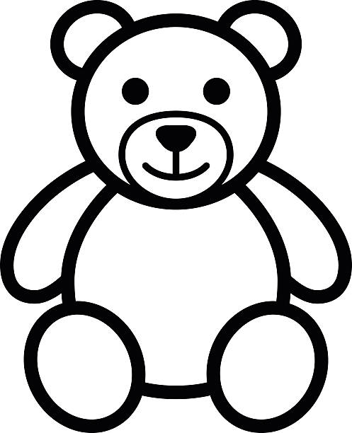 Teddy Bear Clipart Drawing.