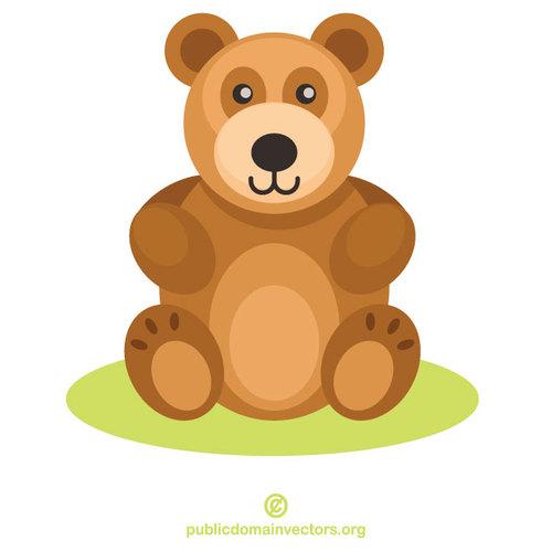 Teddy bear toy.