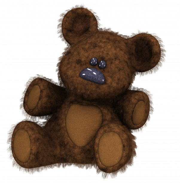 Cartoon Teddy Bear Clipart Free Stock Photo.