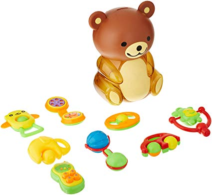 Amazon.com: Baby Teether Toy Set.