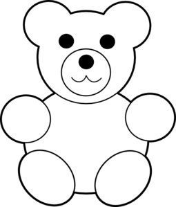 Teddy Bear Counters Clipart.