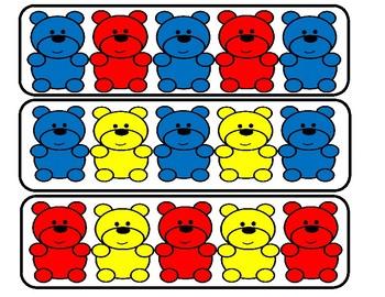 Teddy Bear Counters.