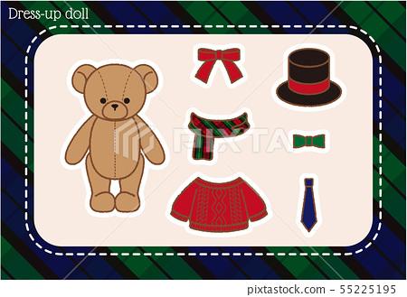 Teddy Bear Dress Up.