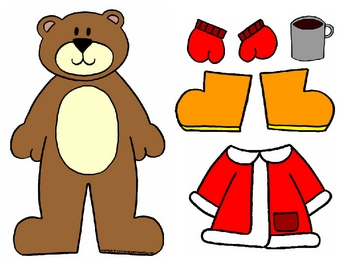 Weather Dress Up Bear.