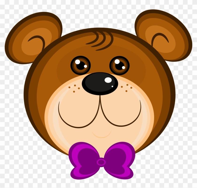 Teddy bear face clipart 3 » Clipart Portal.