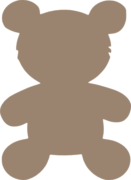 Free Outline Of A Teddy Bear, Download Free Clip Art, Free.