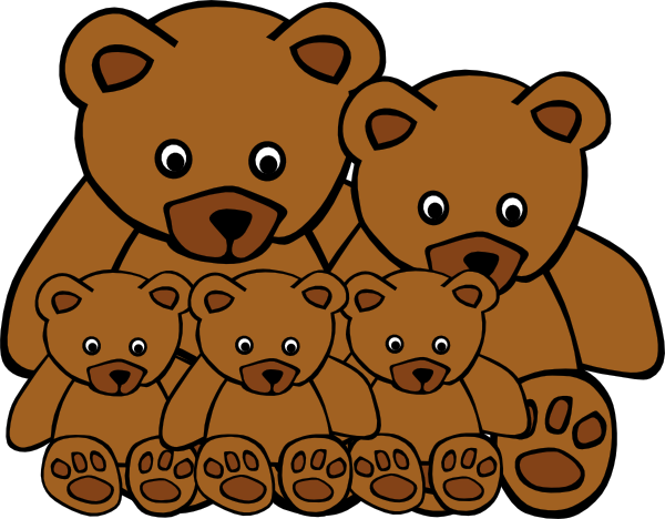 Free Bear Family Cliparts, Download Free Clip Art, Free Clip.