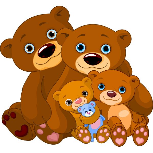 Cuddly Bear Family.