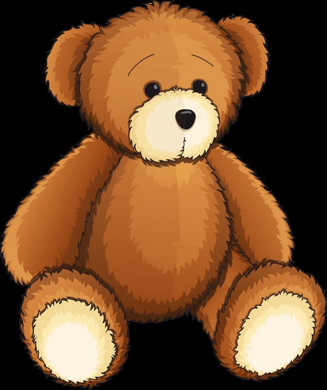 45+ Teddy Bear Clipart.