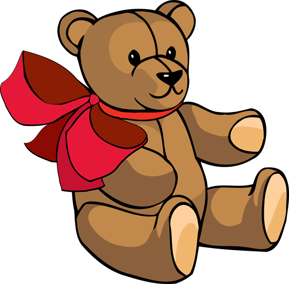 Pink teddy bear clipart free clipart images 3.