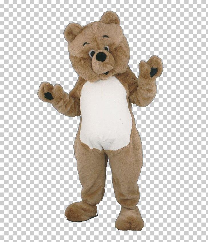 Teddy Bear Costume Plush Mascot PNG, Clipart, Animals, Bear.