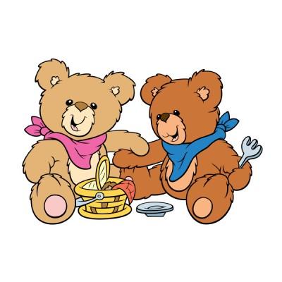Teddy Bear Picnic Clipart.