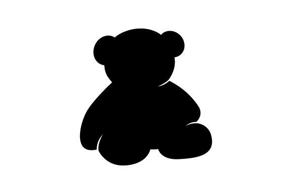 Teddy Bear Silhouette.