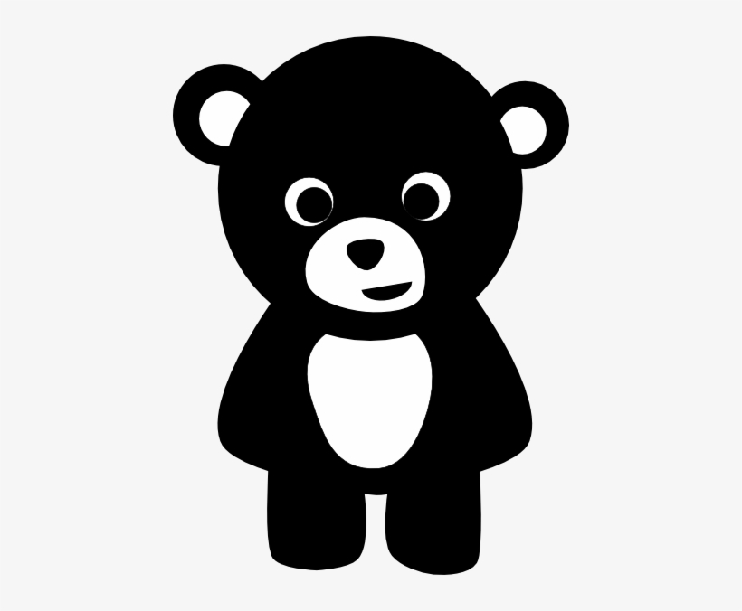 Teddy Bear Silhouette Png.