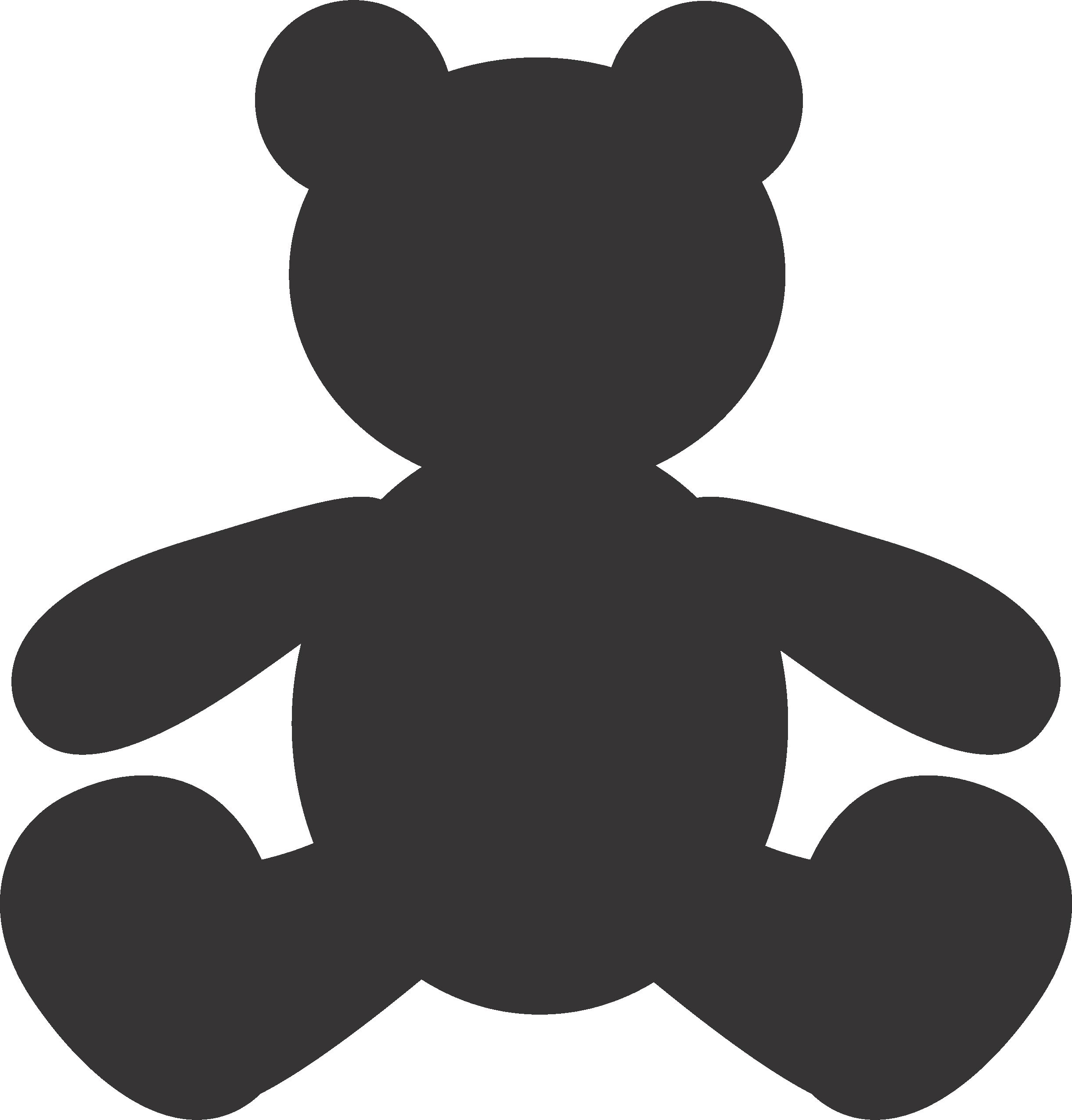 Free Cartoon Bear Silhouette, Download Free Clip Art, Free.