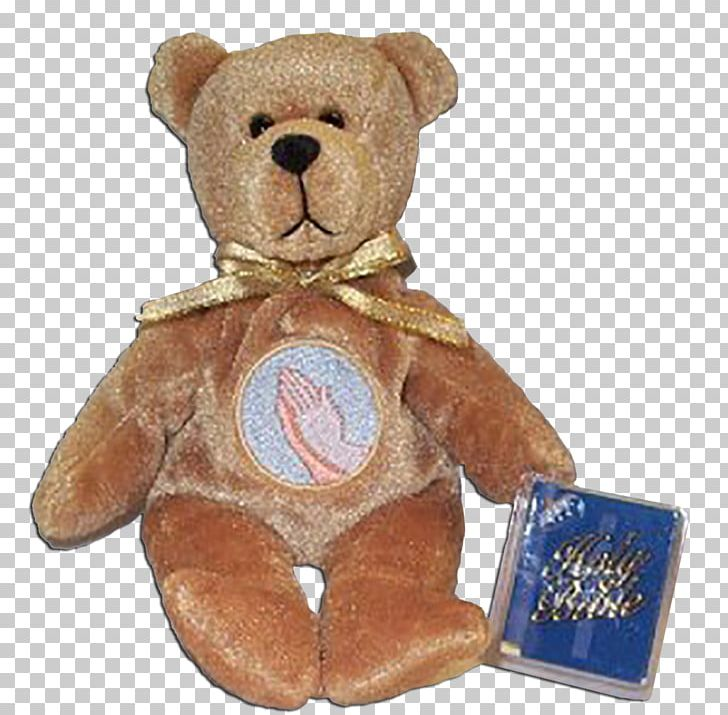 Teddy Bear Stuffed Animals & Cuddly Toys Bible Prayer PNG.