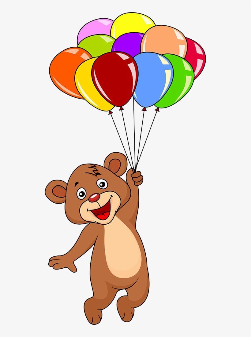 Teddy Bear Balloon Clip Art.