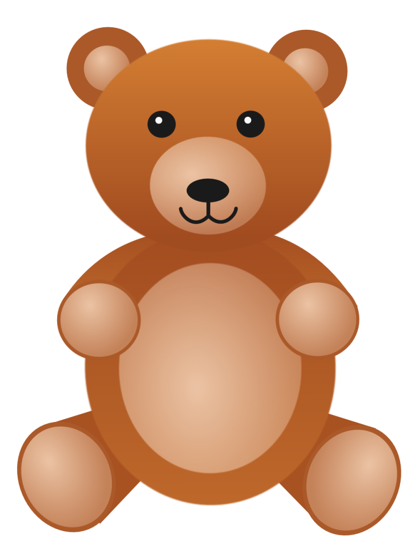 Clip Art Teddy Bear.
