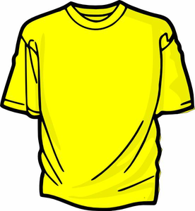 Free Clipart Of T Shirt.