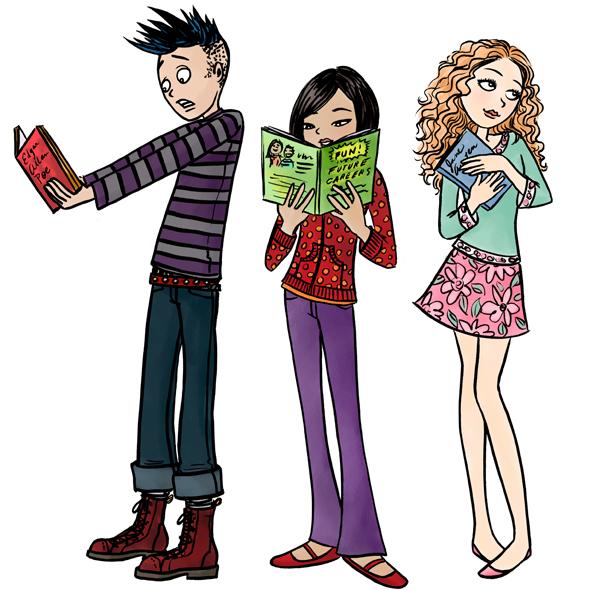 Teen School Clipart.