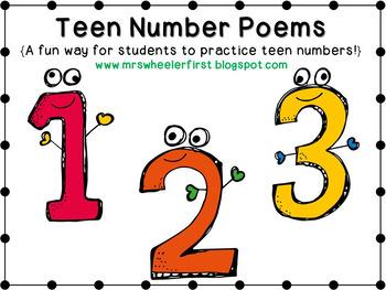 First Grade Math: Teen Numbers by Mrs Wheeler.