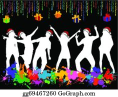 Teen Party Clip Art.