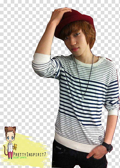 Teen Top Niel transparent background PNG clipart.