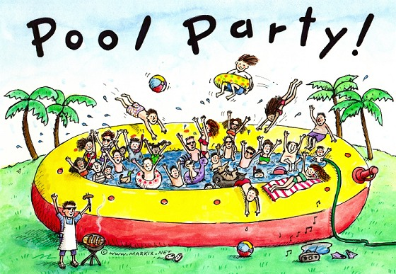 Teen Pool Party — Kingston Chase Home Owners Association.