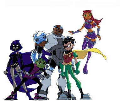 Teen Titans Clipart.