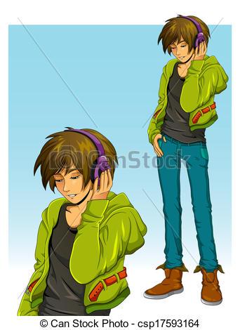 Teenage boy Illustrations and Clipart. 21,241 Teenage boy royalty.