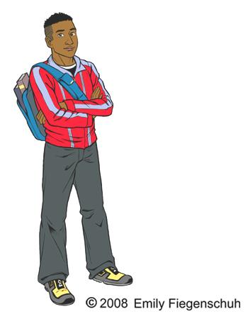 Transparent Boy Teen Clipart.