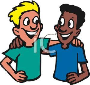 Interracial Teen Friends.