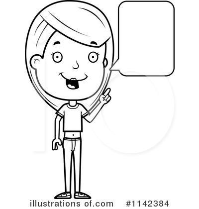 Teen Girl Clipart #1142384.