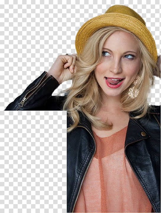 Candice Accola La Teen Festival Cut Out , woman holding ears.