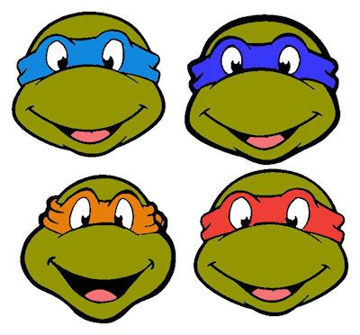Free download Tmnt Outline Clipart for your creation..