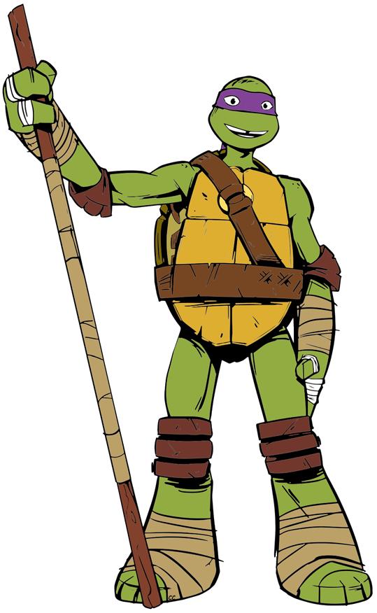 Teenage Mutant Ninja Turtles Clip Art Images.