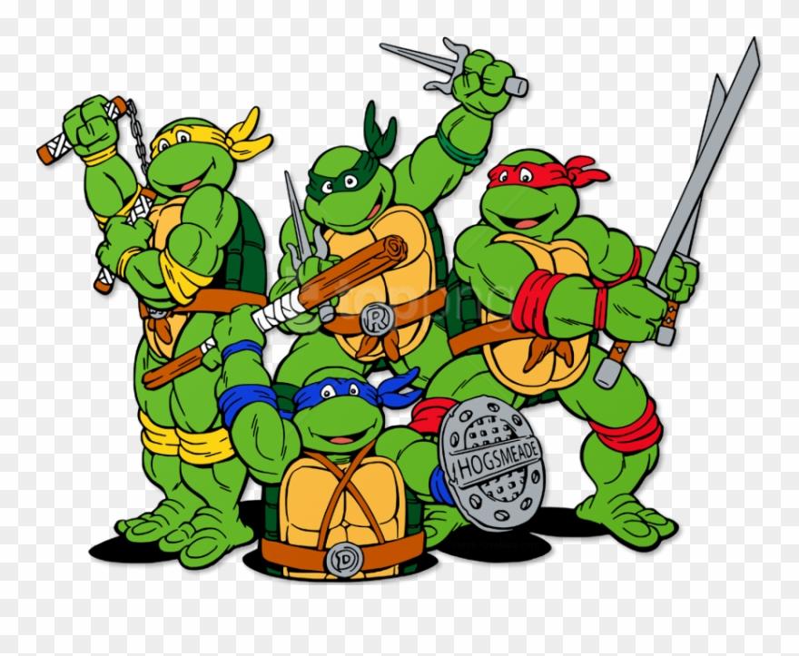 Teenage Mutant Ninja Turtles Clip Art.