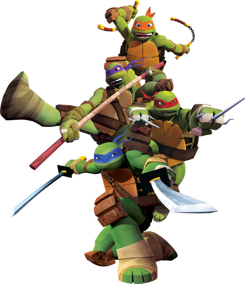 Ninja Turtles PNG images free download.
