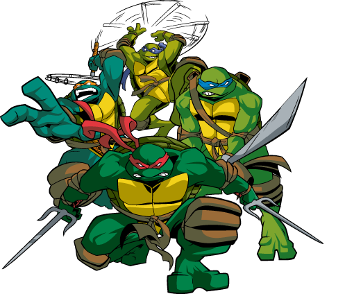 Teenage Mutant Ninja Turtles PNG Images Transparent Free.