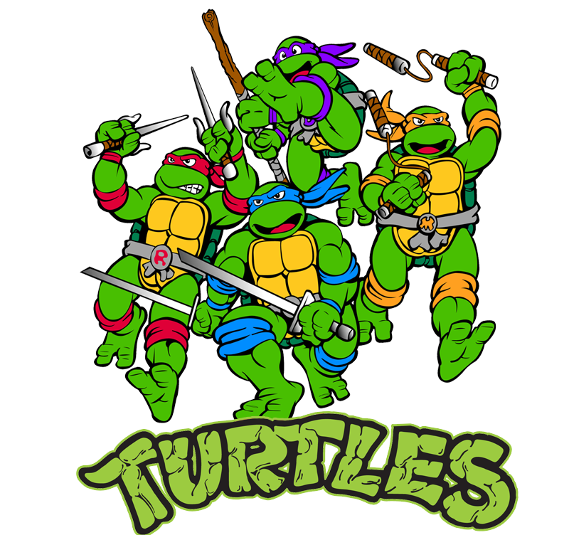 Teenage Mutant Ninja Turtle\'s PNG Image.