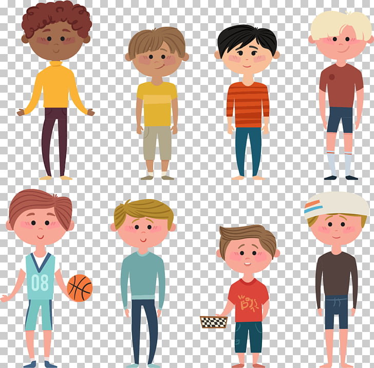 Boy Icon, Teen boy , people cartoon illustration PNG clipart.