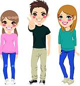 Teenagers Clip Art Royalty Free. 37,233 teenagers clipart vector.