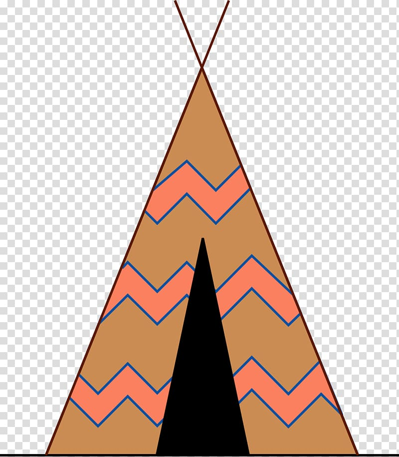 Teepee Tent transparent background PNG cliparts free.